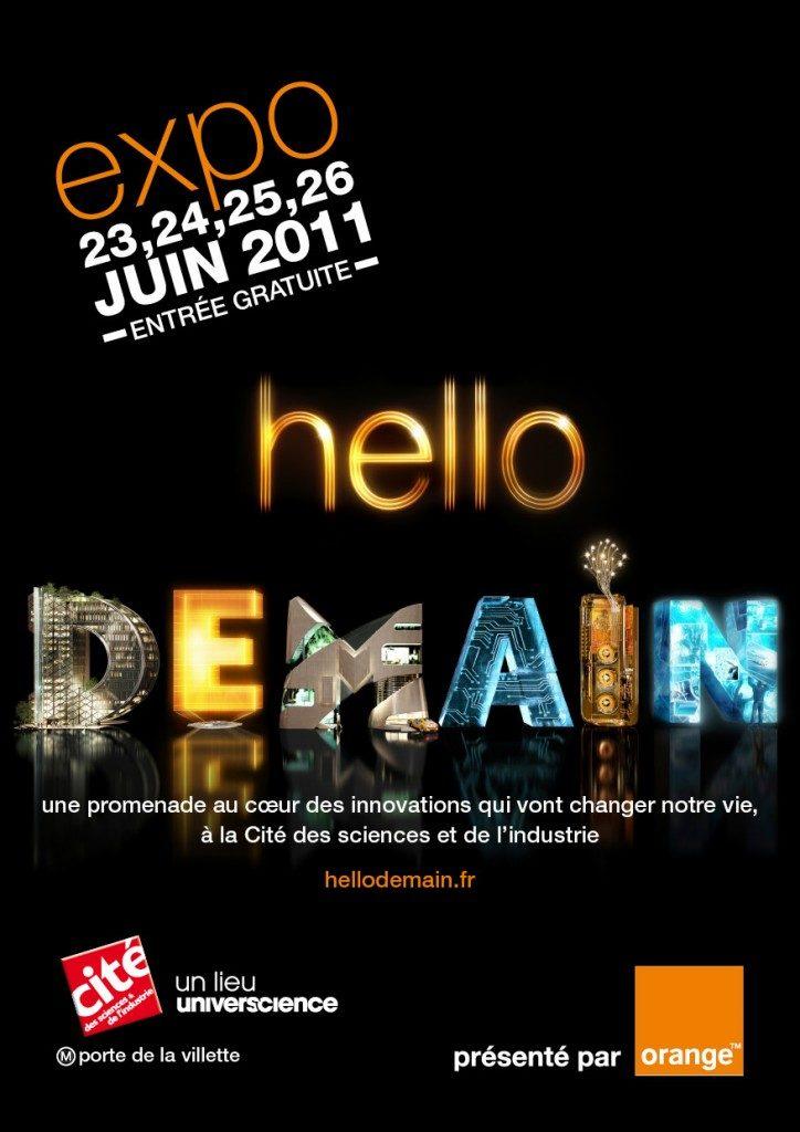 L'exposition Hello demain !… et son site Web