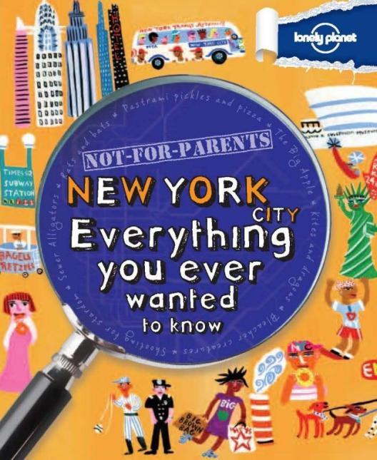 Lonely Planet lance les guides de voyage pour enfants