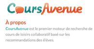 CoursAvenue.com : trouvez un cours de loisirs près de vous