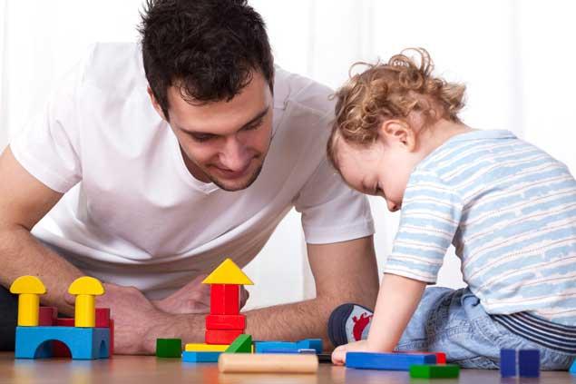 Partagez un temps calme avec votre enfant